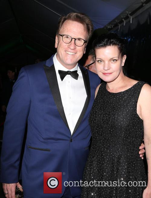 Scott Williams and Pauley Perrette 6