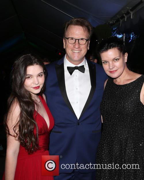 Madison Mclaughlin, Scott Williams and Pauley Perrette 4