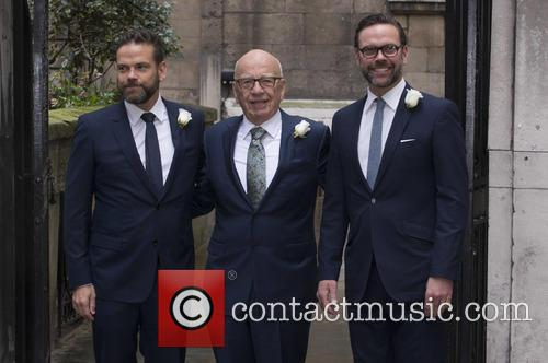 Lachlan Murdoch, Rupert Murdoch and James Murdoch 2