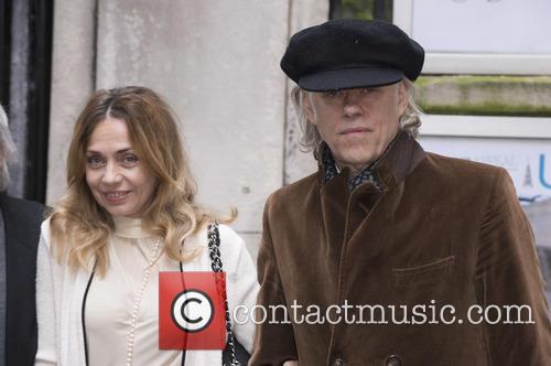 Sir Bob Geldof and Jeanne Marine 2