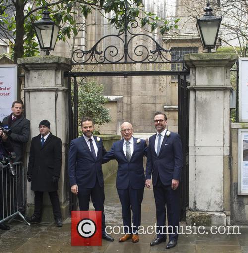Lachlan Murdoch, Rupert Murdoch and James Murdoch 9