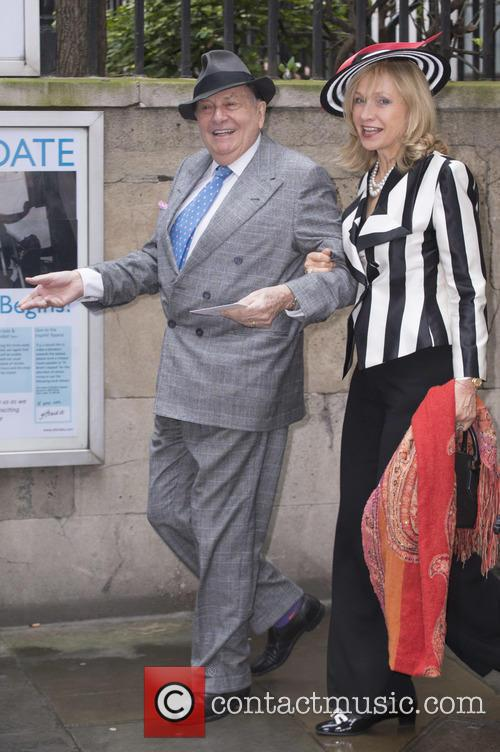 Barry Humphries and Sabrina Guiness