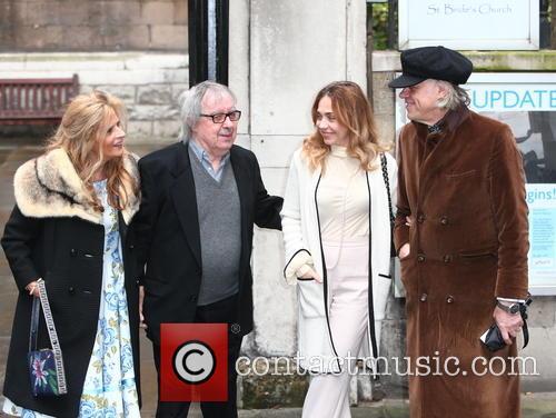 Guests, Jeanne Marine and Sir Bob Geldof 2