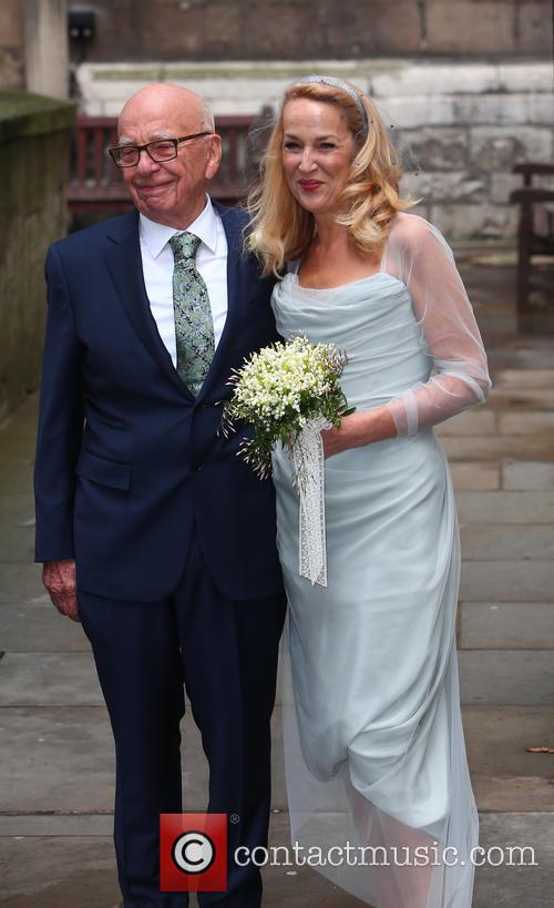 Rupert Murdoch and Jerry Hall 4