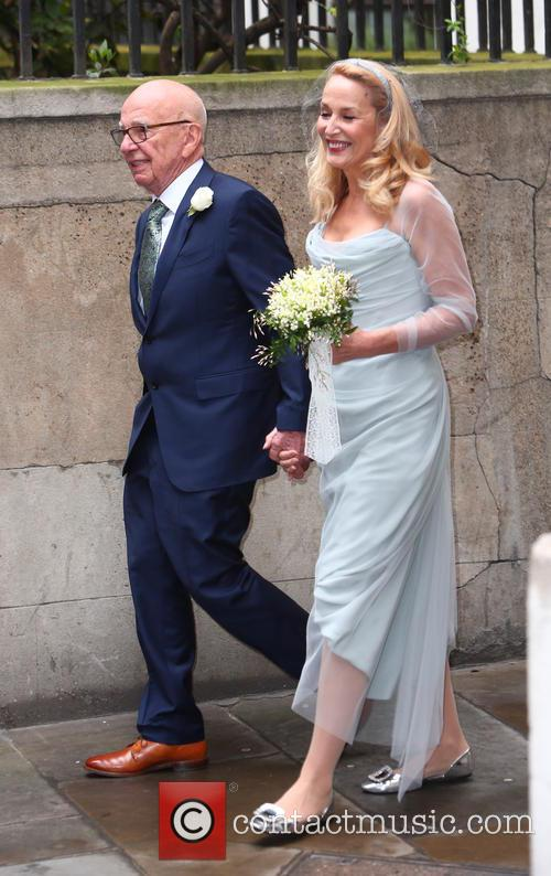 Rupert Murdoch and Jerry Hall 7