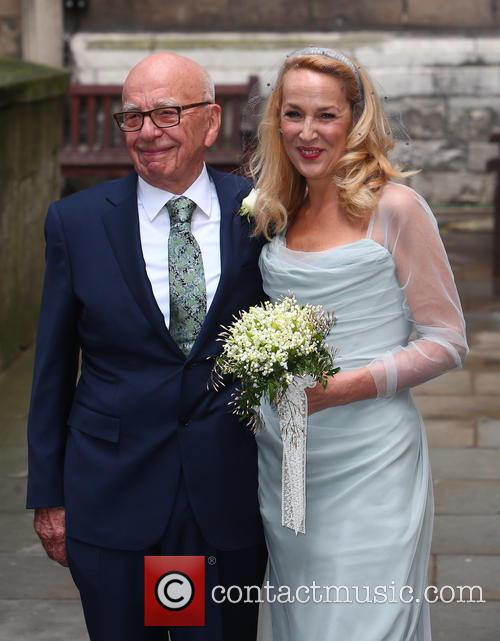 Rupert Murdoch and Jerry Hall 10