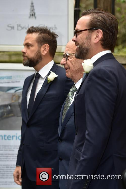 James Murdoch, Rupert Murdoch and Lachlan Murdoch 1