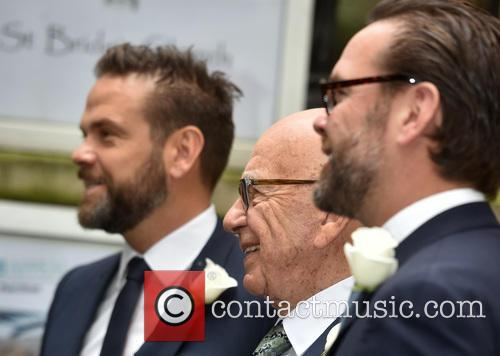 James Murdoch, Rupert Murdoch and Lachlan Murdoch 2
