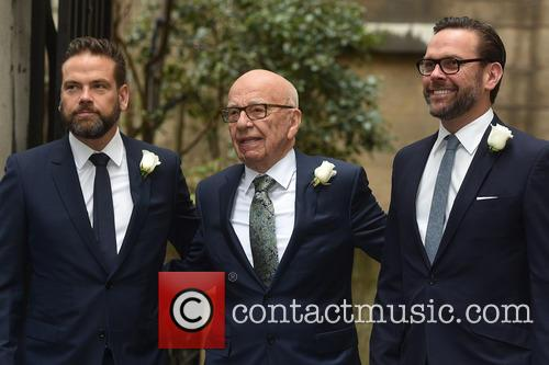 James Murdoch, Rupert Murdoch and Lachlan Murdoch 3