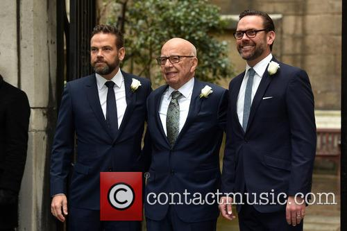 James Murdoch, Rupert Murdoch and Lachlan Murdoch