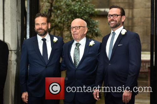 James Murdoch, Rupert Murdoch and Lachlan Murdoch 6