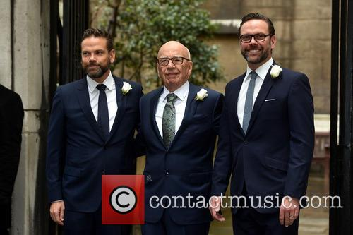 James Murdoch, Rupert Murdoch and Lachlan Murdoch 7