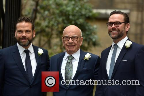 James Murdoch, Rupert Murdoch and Lachlan Murdoch 9