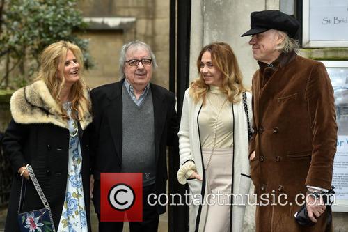 Bill Wyman, Suzanne Accosta, Bob Geldof and Jeanne Marine 3