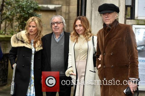 Bill Wyman, Suzanne Accosta, Bob Geldof and Jeanne Marine 5