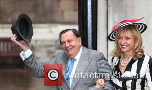 Barry Humphries and Lizzie Spender 2
