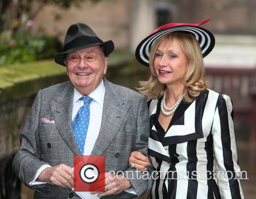 Barry Humphries and Lizzie Spender 3