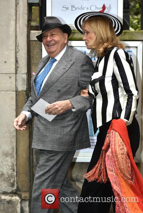 Barry Humphries and Lizzie Spender 8