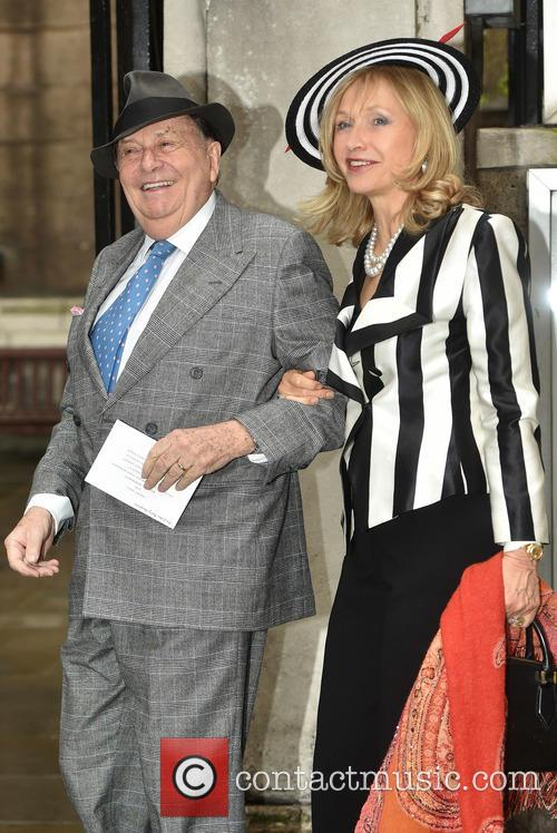 Barry Humphries and Lizzie Spender 10
