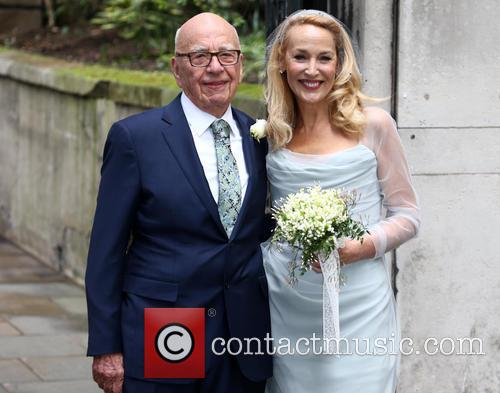 Rupert Murdoch and Jerry Hall 6