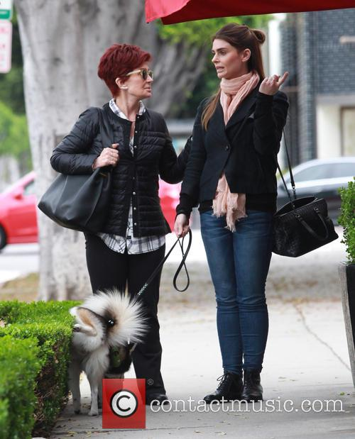Sharon Osbourne and Aimee Osbourne 1