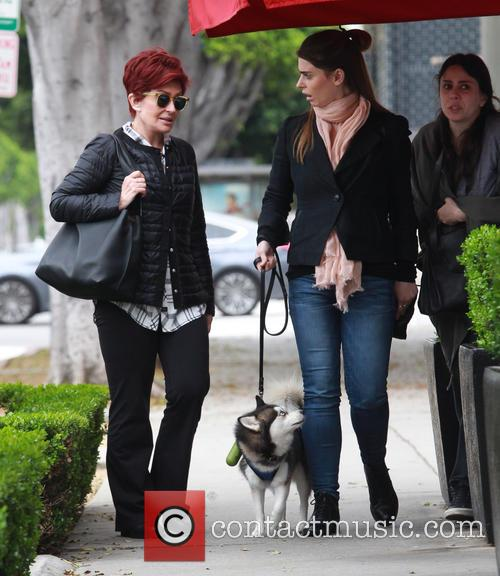 Sharon Osbourne and Aimee Osbourne 2