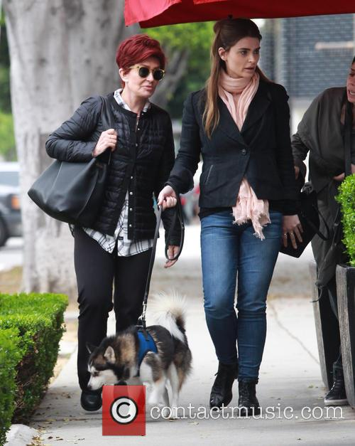Sharon Osbourne and Aimee Osbourne 4
