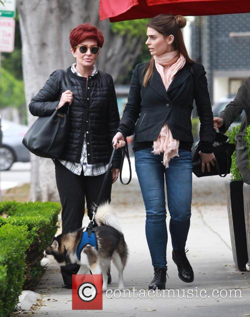 Sharon Osbourne and Aimee Osbourne 5