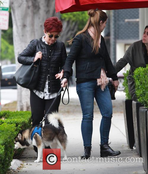 Sharon Osbourne and Aimee Osbourne 6