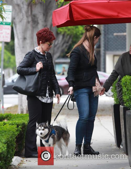Sharon Osbourne and Aimee Osbourne 7