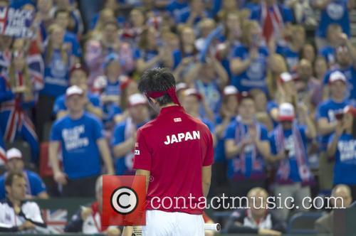 Andy Murray and Kei Nishikori 2