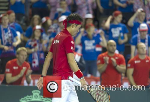 Andy Murray and Kei Nishikori 5
