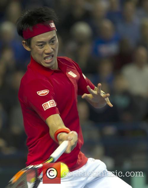 Andy Murray and Kei Nishikori 9