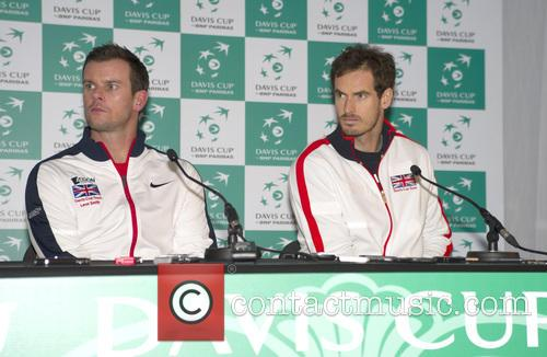Leon Smith and Andy Murray 1