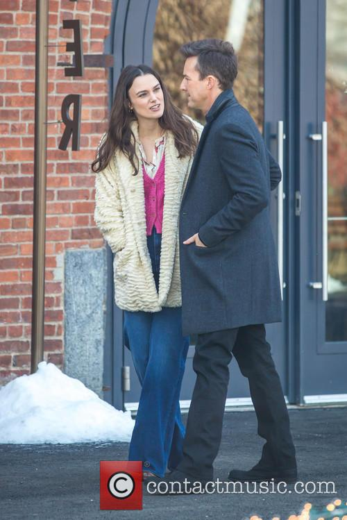 Keira Knightley and Edward Norton 10