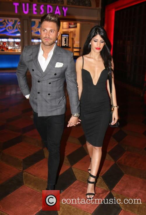 Jasmin Walia and Ross Worswick out in Las...