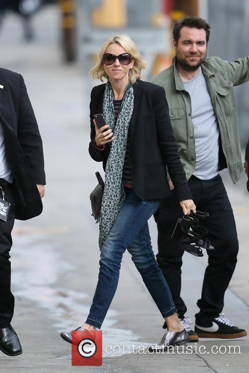 Naomi Watts seen arriving at the ABC studios