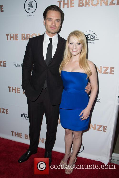 Sebastian Stan and Melissa Rauch 1
