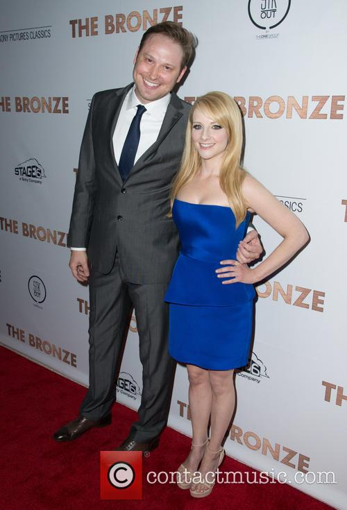 Winston Rauch and Melissa Rauch 1