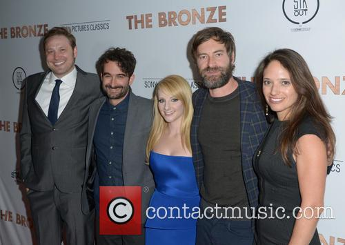 Winston Rauch, Jay Duplass, Melissa Rauch, Mark Duplass and Stephanie Langhoff 2