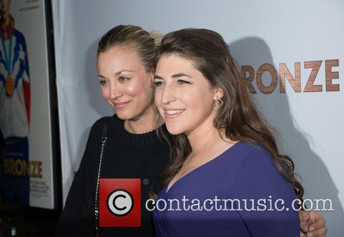 Kaley Cuoco and Mayim Bialik 8