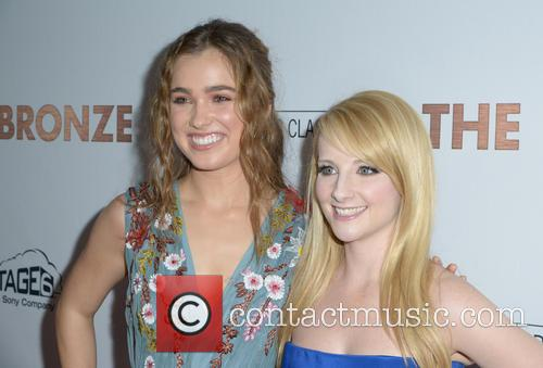 Haley Lu Richardson and Melissa Rauch 2