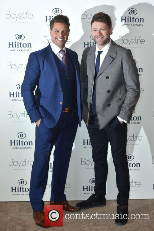 Brian Mcfadden and Keith Duffy 2
