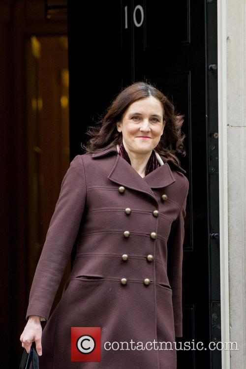 Theresa Villiers Mp and Secretary Of State For Northern Ireland 1