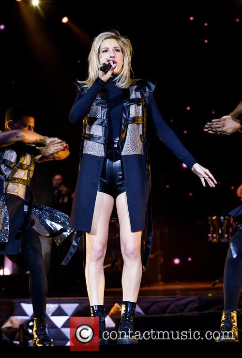 Ellie Goulding performs live in Cardiff on her...