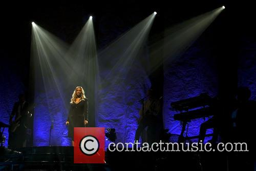 Leona Lewis headlining at the Clyde Auditorium at...