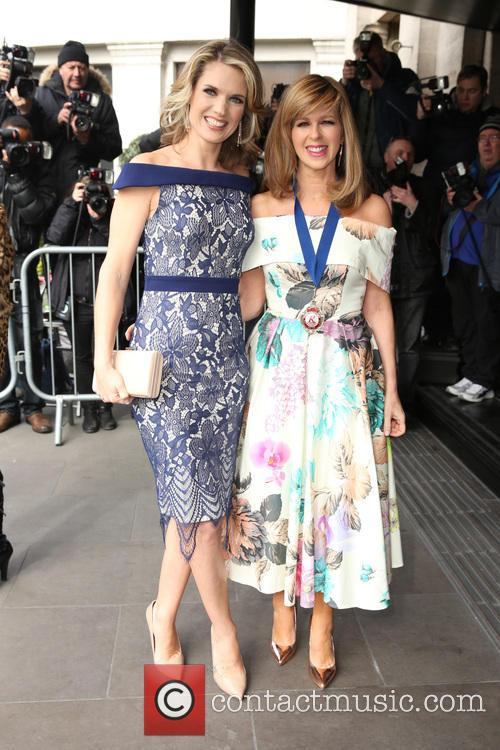 Kate Garraway and Charlotte Hawkins 2