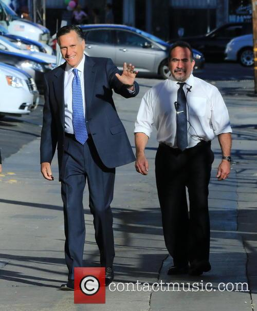 Jimmy Kimmel and Mitt Romney 5