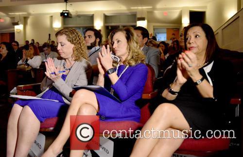 Rep. Debbie Wasserman Schultz Dnc Chair, Allison Tant Florida Democratic Party Chair and Hon. Iris Y. Martinez Dnc Hispanic Caucus Chair 3