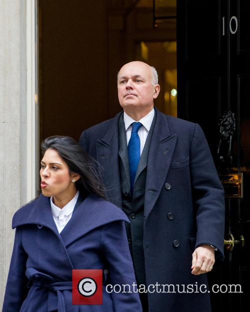 Priti Patel Mp, Minister Of State For Employment, Iain Duncan Smith Mp, Secretary Of State For Work and Pensions 1